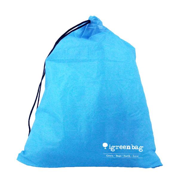 201602: 防水尼龍束口袋-iGreenbag防水束口袋廠商